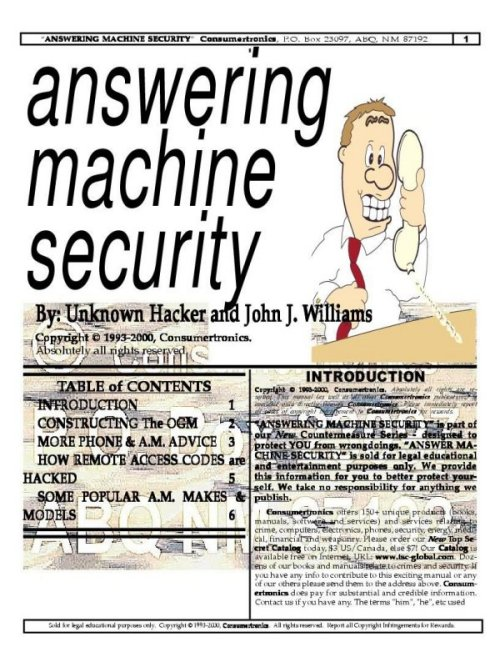 machine security issues