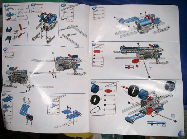 meccano erector set instructions