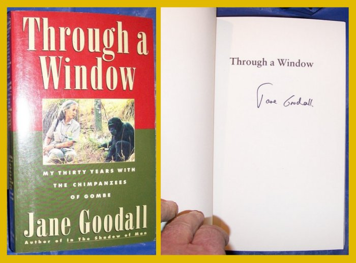 jane goodall - through a window essays Read through a window by jane goodall by jane goodall for free with a 30 day free trial read ebook on the web, ipad, iphone and android.