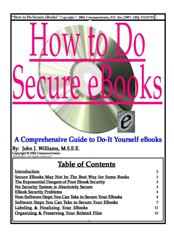 Abq techzonics booksmanualsebookssoftware sales how to do secure ebooks fandeluxe Image collections