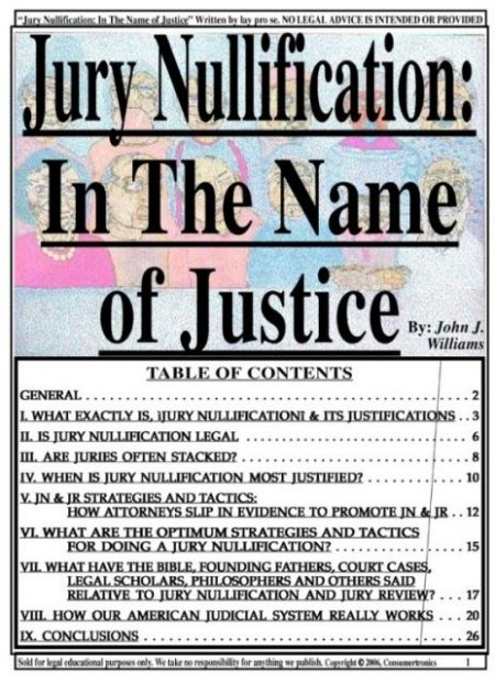 jury nullification Refusal of a jury to find a defendant guilty, even when the facts establish guilt, because of a conclusion that conviction would be contrary to some other concept of justice.
